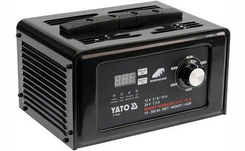 Nabíječka digitální s jump starterem 15A Nářadí 7.25Kg YT-83051