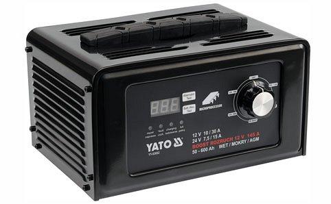 Nabíječka digitální s jump starterem 30A Nářadí 9.75Kg YT-83052