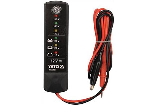 Tester autobaterií digitální 12V