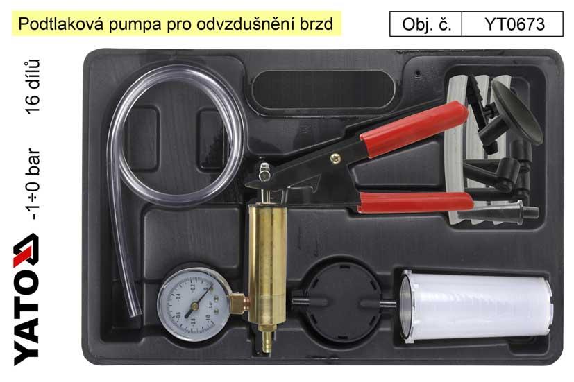 Podtlaková pumpa Yato YT-0673
