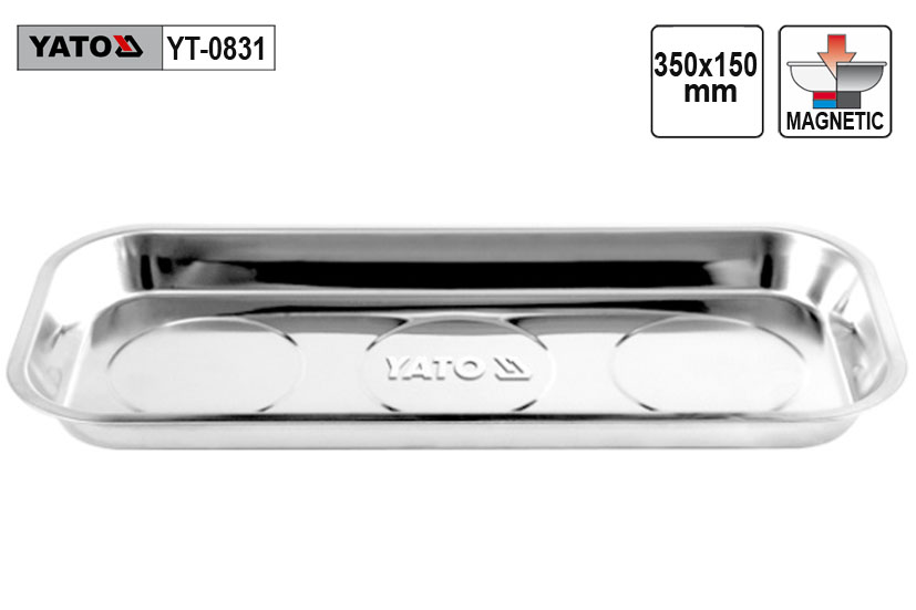 Miska magnetická oválná YATO rozměr 150x350mm