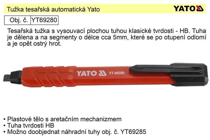 Tužka tesařská automatická Yato