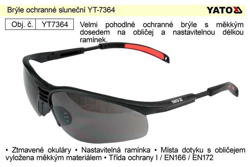 Brýle ochranné sluneční YT-7364