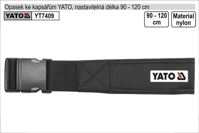 Opasek YATO ke kapsářům délka 90-120cm