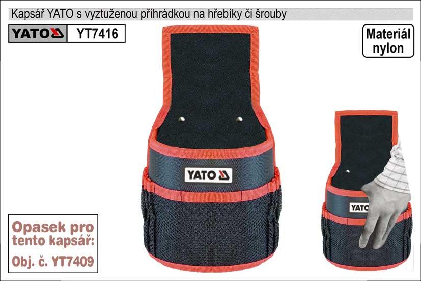 Kapsář  YATO na hřebíky s 1 kapsou