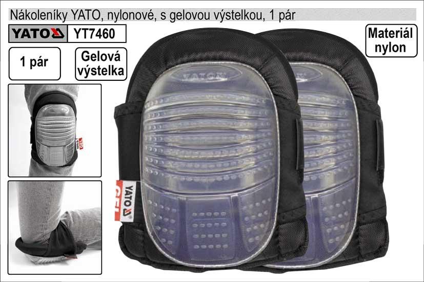 Nákoleníky gelové YATO 1 pár