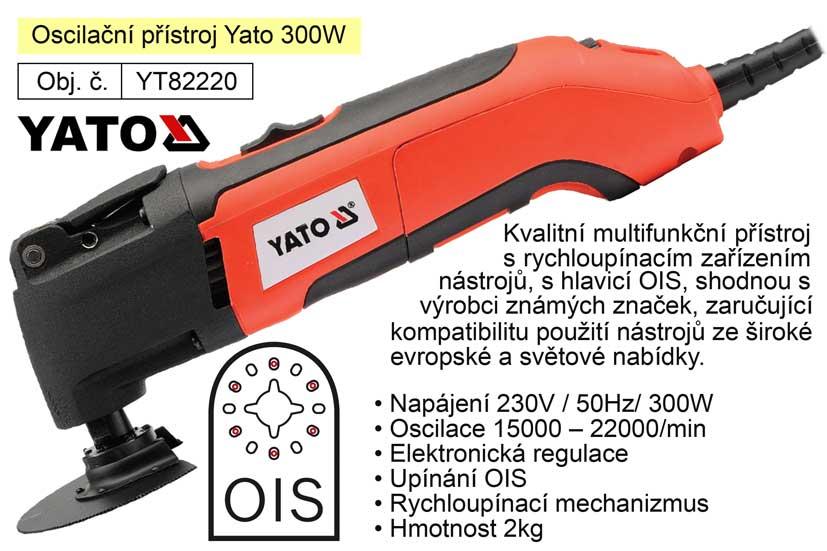 Bruska multifunkční Yato YT-82220 s rychloupínáním 300W