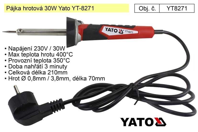 Pájka hrotová 30W Yato YT-8271