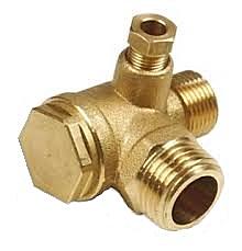 """Zpětný ventil ke kompresoru 1/2"""" x 3/8"""""""