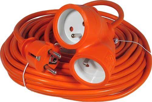Prodlužovací kabel 1 zásuvka délka 20 m 16 A