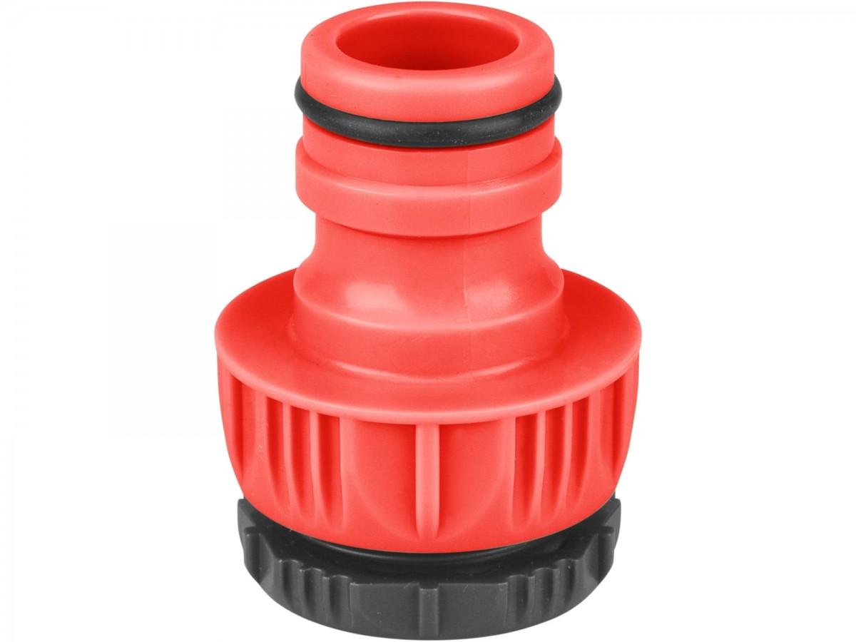 """Extol Premium adaptér konektor na kohoutek 1""""-3/4"""", 1""""systém, ABS"""