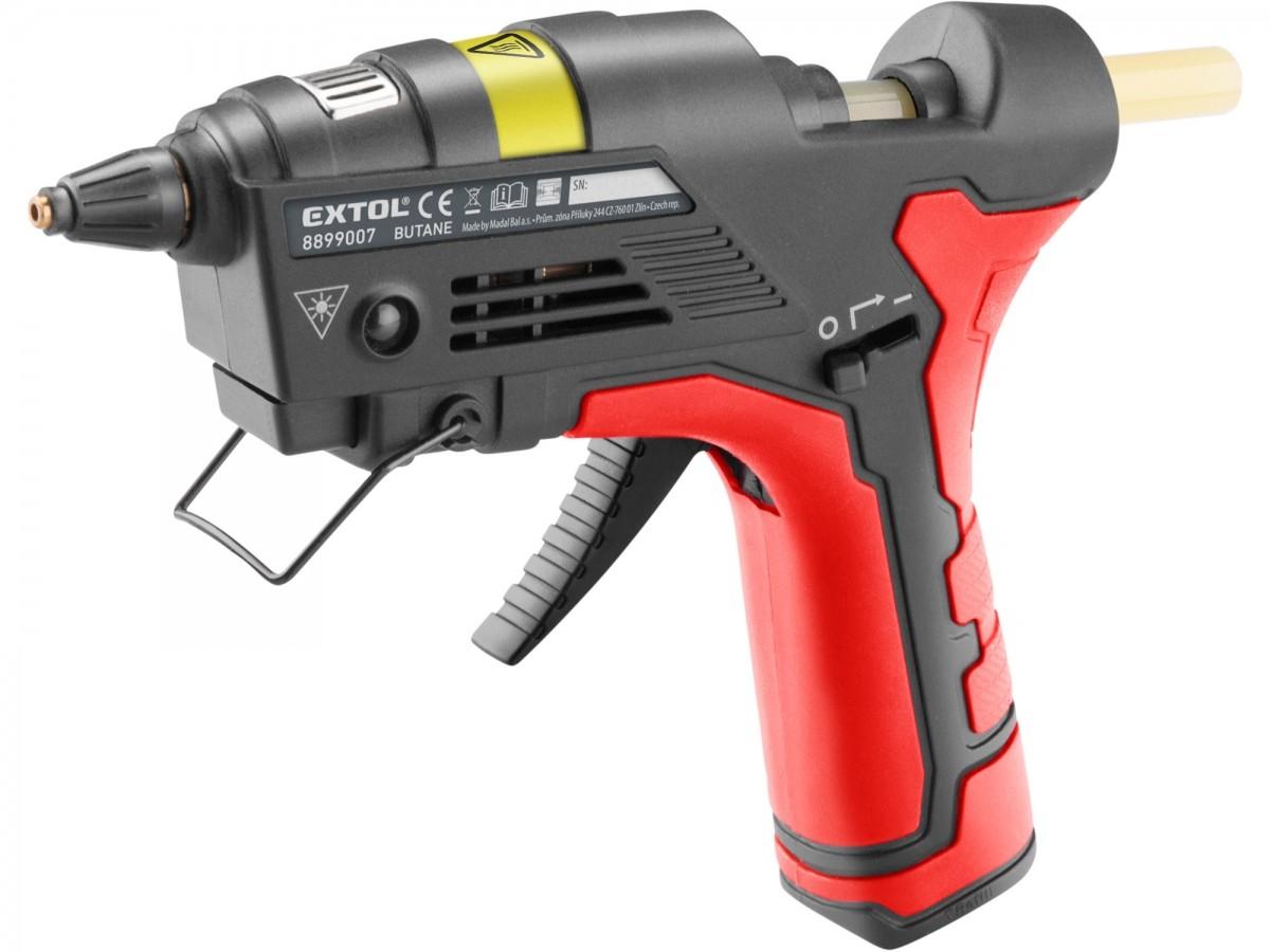 EXTOL PREMIUM plynová pistole tavná lepící, na plyn do zapalovačů, ? 11mm Nářadí-Sklad 2 | 0 Kg
