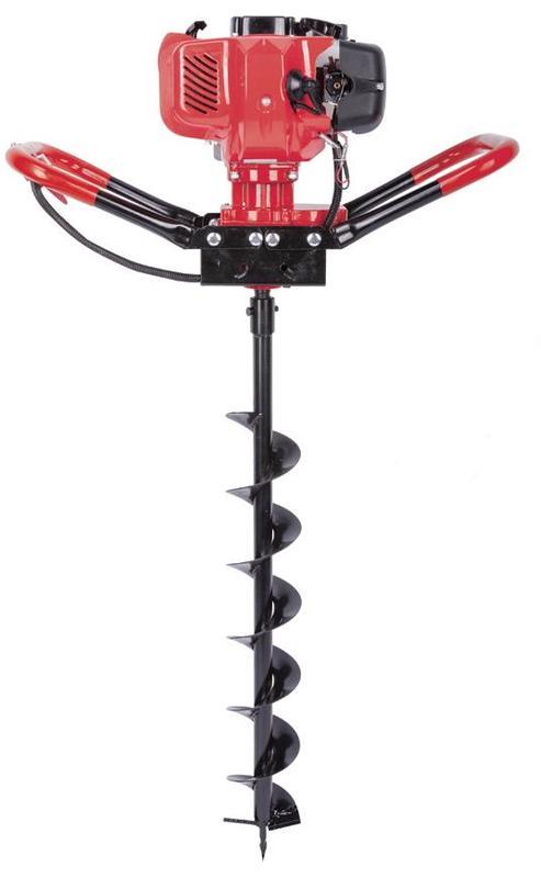 STREND PRO Motorový půdní zemní vrták 1,45kW + 1 vrták (15cm)