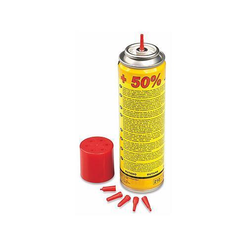 KEMPER Plyn BUTAN, 150ml, 90g, náplň mikropájek, mikrohořáků a zapalovačů Nářadí 0.15Kg TR217835