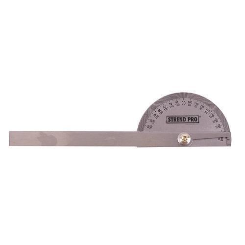 STREND PRO Úhloměr zámečnický 0-180° rameno 150mm Nářadí 0.1Kg TR222533