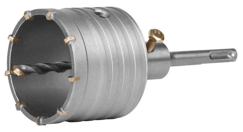 STREND PRO Vrták do betonu  korunkový průmer 73mm se stopkou SDS Plus M22 (24717)